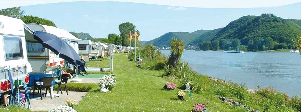 Camping in Bad Hönningen am Rhein